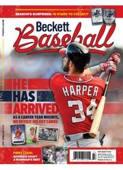 Baseball Back Issues Print Magazine – Beckett media