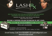 Lash-Rx- Eyelash extensions training | Eyelash salon Dallas