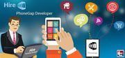 Hire PhoneGap developers to build cross platform compatible mobile app
