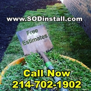 SOD & Sprinkler Installation Sale: 10% OFF