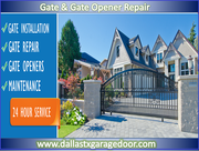 New Gate Repair & Installation Dallas,  TX | Starting @ $26.95