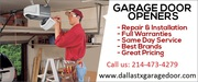 Get Affordable Garage Door Spring Repair Services Dallas,  TX