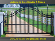 Automatic Gate Repair and Installation Service @ Starting $26.95