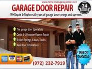 Providing Emergency New Garage Door Installation 75081 TX