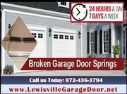 Garage Door Spring Installation & Repair 75056,  TX