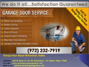 Same Day Services | Commercial Garage Door Repair Richardson,  TX