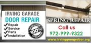 24 hour Garage Door Spring Installation – Irving |972-999-9322
