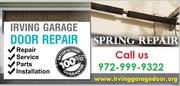 24 hour Garage Door Spring Installation – Irving |972-999-9322