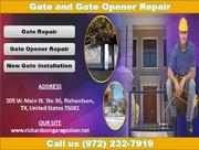 Top Most Gate & Gate Opener Repair Richardson TX | Starting $26.95