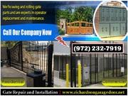 Gate Opener Repair | Starting $26.95 | Call us (972) 232-7919