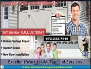 24/7 Emergency Garage Door Repair company in Richardson,  TX