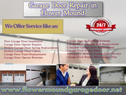 Trusted Garage Door Opener Repair Experts in Flower Mound,  TX