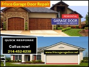 Top Quality New Garage Door Installation Company in Frisco,  TX