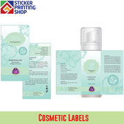 Cosmetic labels to make sure your instructions are clear