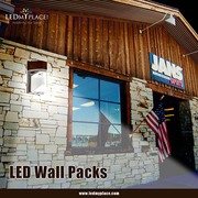 LED Wall Pack Is Beating The Metal-Halide/ Sodium-Potassium Lamps