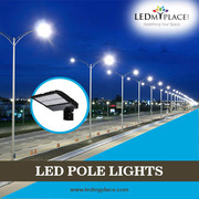 Best quality LED Pole Lights to light up your surroundings