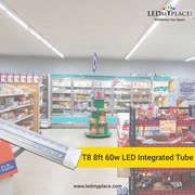 Use Sleek & Light Weight T8 8ft 60w LED Integrated Tubes