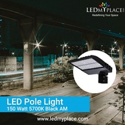 Use Premium LED Chips Designed 150w LED Pole Lights On Streets
