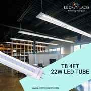 Purchase Now Use Flicker Free Single Ended T8 4ft 22W LED Tubes