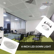 Buy 4 inch LED Downlights inside Office to Fascinate your Clients
