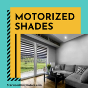 Cover Your Window With Motorized Shades   Starwood Distributors