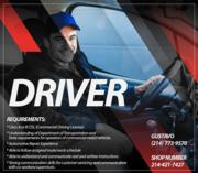 Driver Job in Dallas,  Texas