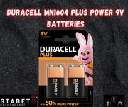 Duracell MN1604 Battries | Free Shipping All Over Europe
